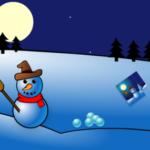 Buid um boneco de neve