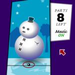 Habillez le bonhomme de neige