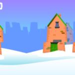 Santa Surf des neiges