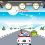 Santa Car Racing